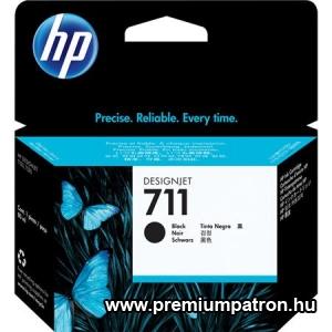 711 BLACK 80ML(CZ133A) HP EREDETI TINTAPATRON