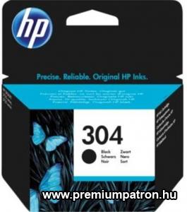 304 FEKETE (NO.N9K06AE) EREDETI HP TINTAPATRON