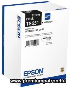 T8651 BK 10K EREDETI EPSON TINTAPATRON