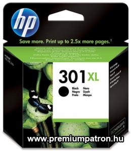 301XL(CH563EE) EREDETI FEKETE HP TINTAPATRON
