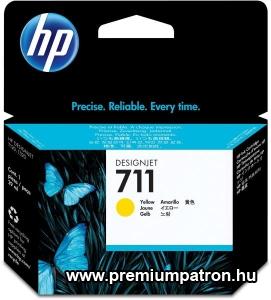 711 YELLOW (CZ132A ) HP EREDETI TINTAPATRON
